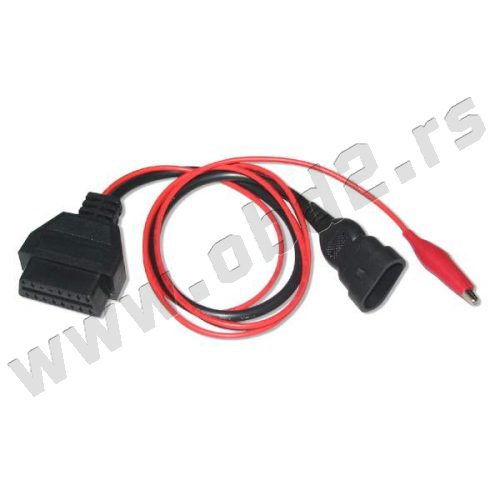 Fiat 3pin adapter