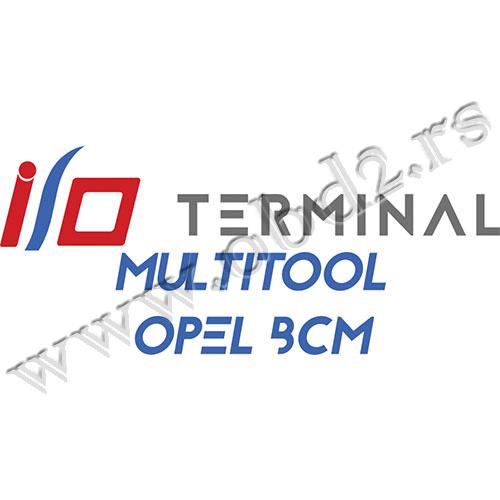 I/O TERMINAL – Multitool – OpelBCM