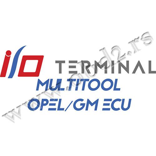 I/O TERMINAL – Multitool – Opel/GM ECU