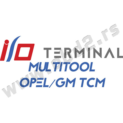 I/O TERMINAL – Multitool – Opel/GM TCM