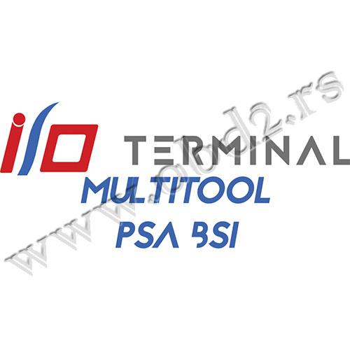 I/O TERMINAL – Multitool – PSA BSI