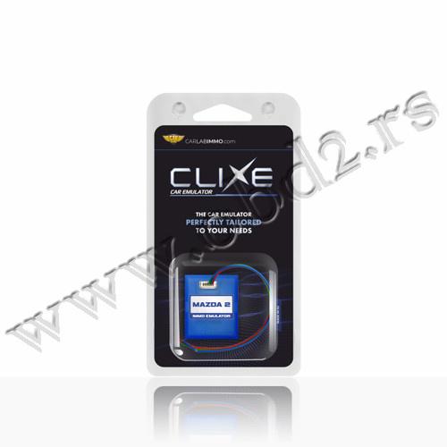 CLIXE Immo emulator Mazda 2