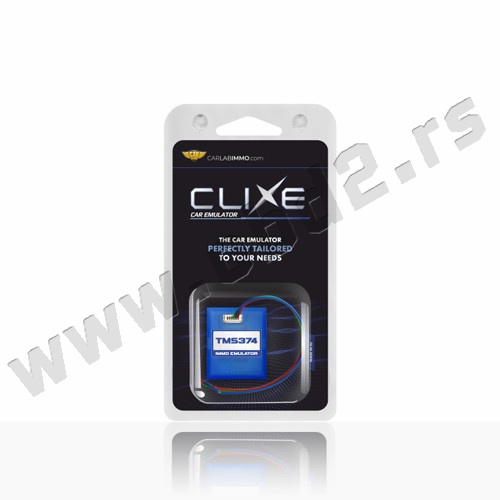 CLIXE Immo emulator TMS374