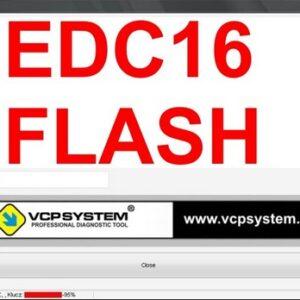 EDC 16 FLASHING