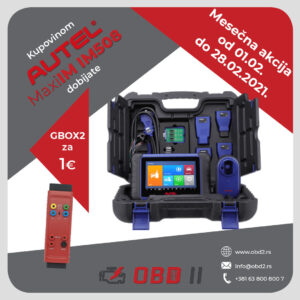 MaxiIM IM508 + GBOX2 za 1€